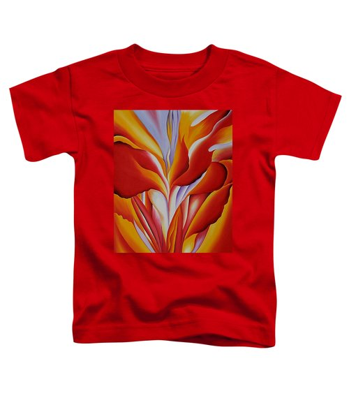 Red Canna Toddler T-Shirt