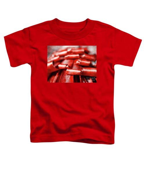 Red Curls Toddler T-Shirt
