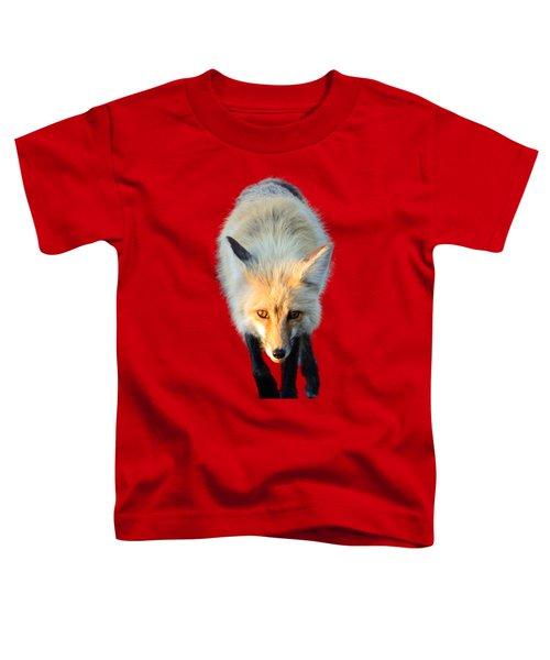 Red Fox Shirt Toddler T-Shirt by Greg Norrell