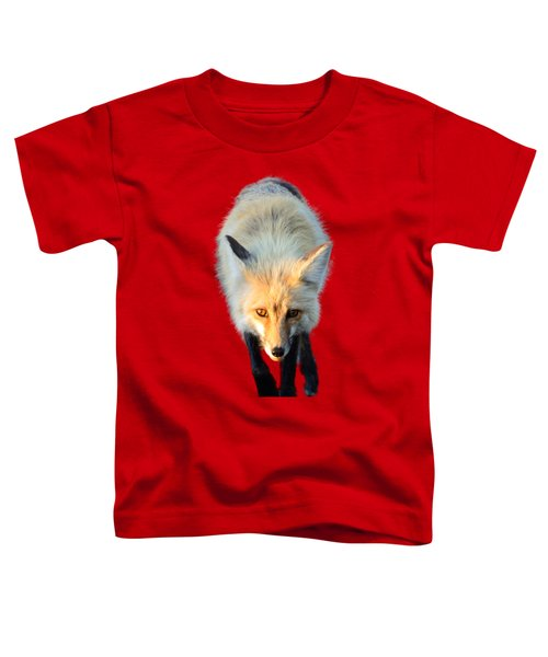 Toddler T-Shirt featuring the photograph Red Fox Shirt by Greg Norrell