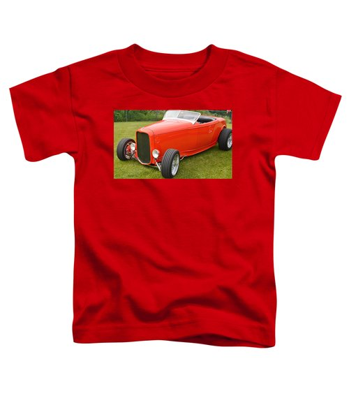 Red Hot Rod Toddler T-Shirt