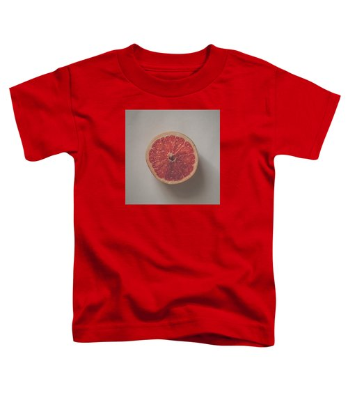 Red Inside Toddler T-Shirt by Kate Morton