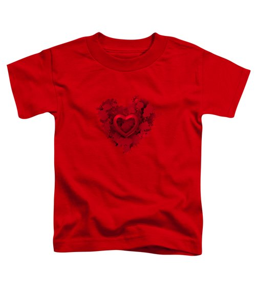Red Love 1 Toddler T-Shirt