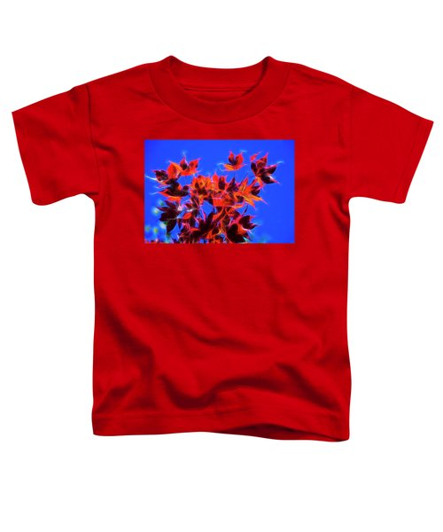 Red Maple Leaves Toddler T-Shirt