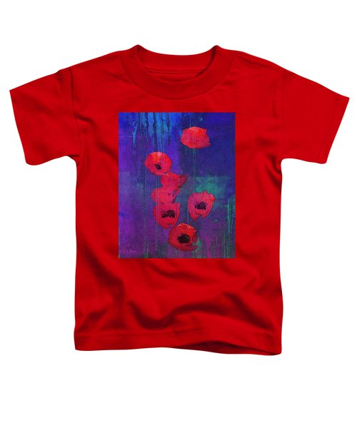 Red Poppies Toddler T-Shirt