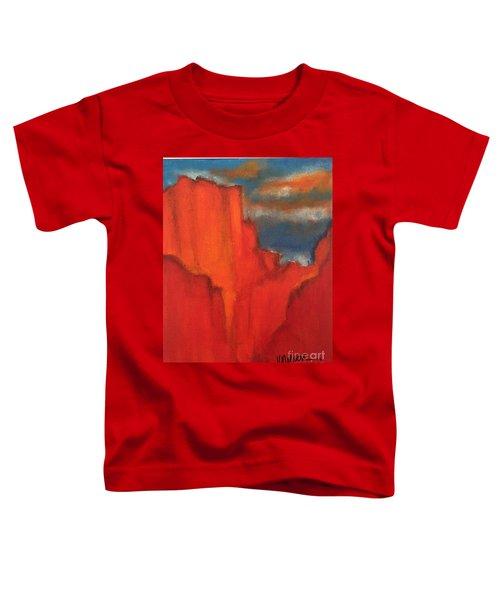 Red Rocks Toddler T-Shirt
