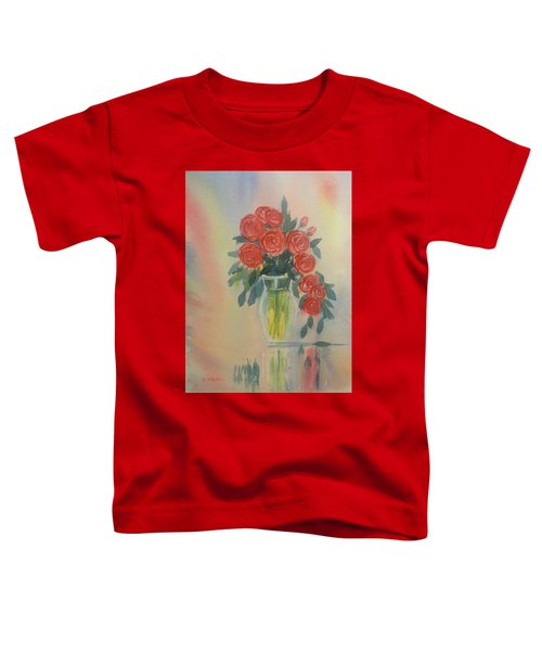 Red Roses For My Valentine Toddler T-Shirt