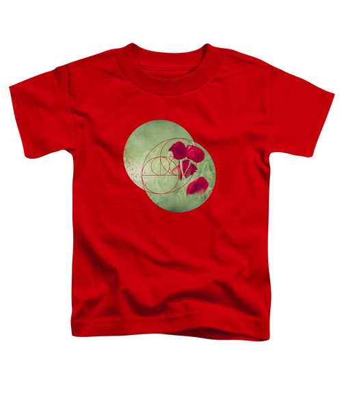Red Spots - Poppies In A Field Toddler T-Shirt