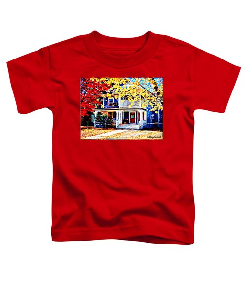 Reds And Yellows Toddler T-Shirt