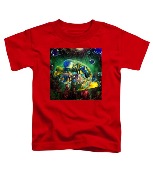Reef Fish Fantasy Art Toddler T-Shirt