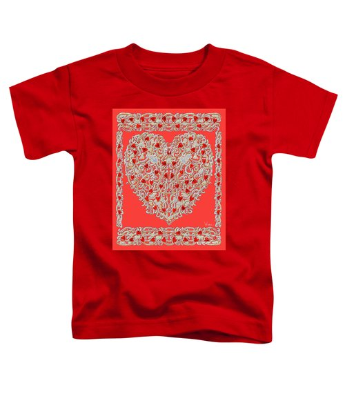 Renaissance Style Heart Toddler T-Shirt