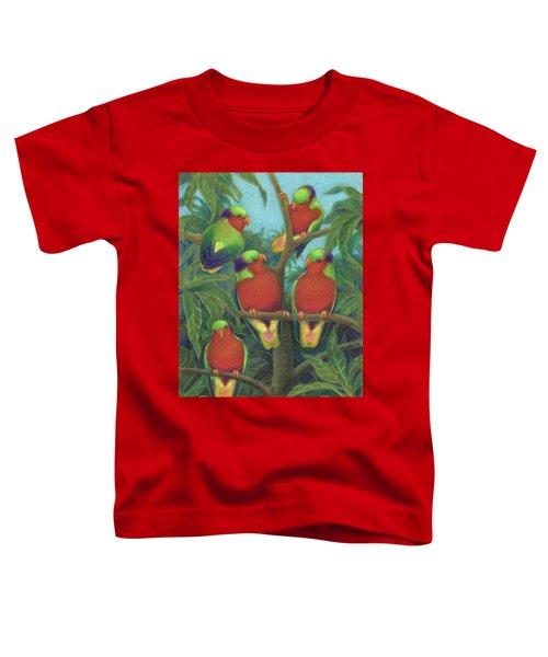 Rimatara Lorikeets Toddler T-Shirt