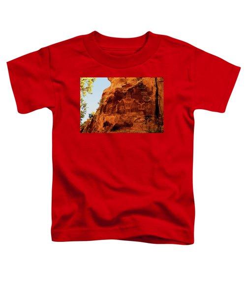 Rock Art From Utah Toddler T-Shirt