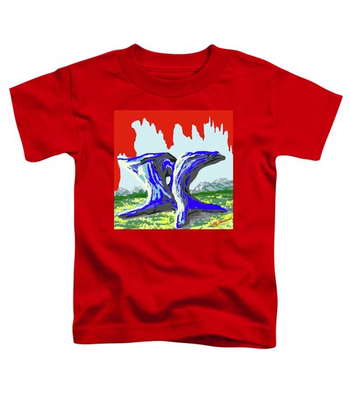 Rock Formations Toddler T-Shirt