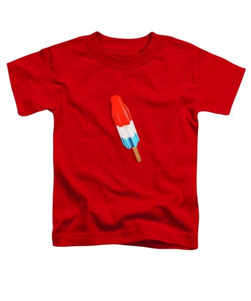 Rocket Pop Pattern Toddler T-Shirt