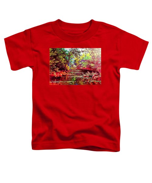 Rocky Rainbow River Toddler T-Shirt
