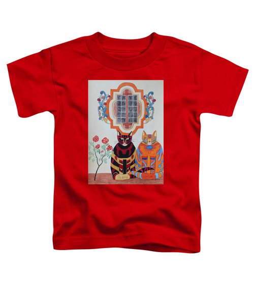 Rosa And Pedro Of The Rose Window Of Mission San Jose Toddler T-Shirt