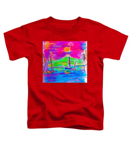 Sail Of The Century Toddler T-Shirt