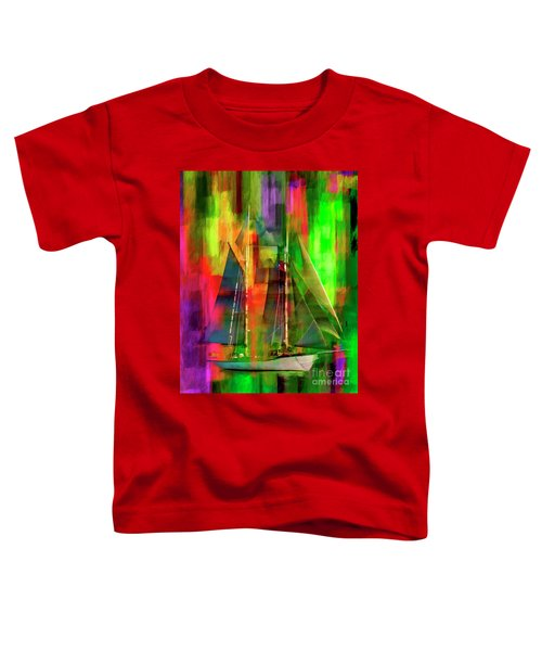 Sailing In The Abstract 2016 Toddler T-Shirt