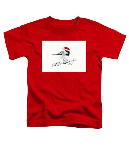 Santa Bandit - Chickadee Toddler T-Shirt