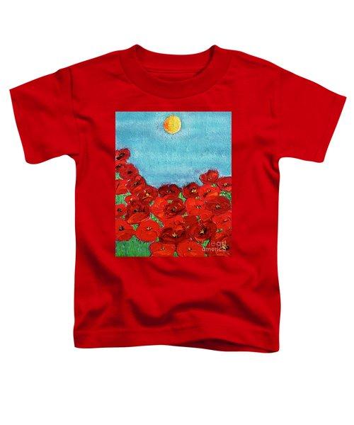 Sarah's Poppies Toddler T-Shirt