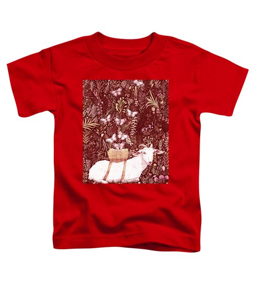 Scapegoat Healing Tapestry Print Toddler T-Shirt