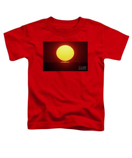 Sea Of Japan Toddler T-Shirt by Tatsuya Atarashi
