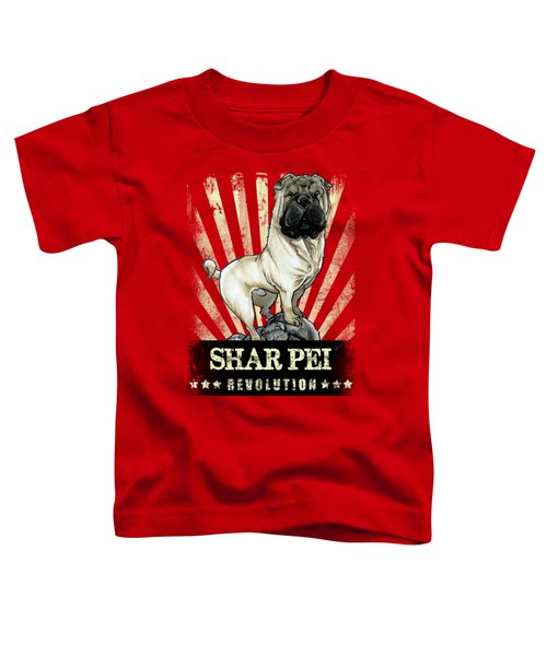 Shar Pei Revolution Toddler T-Shirt