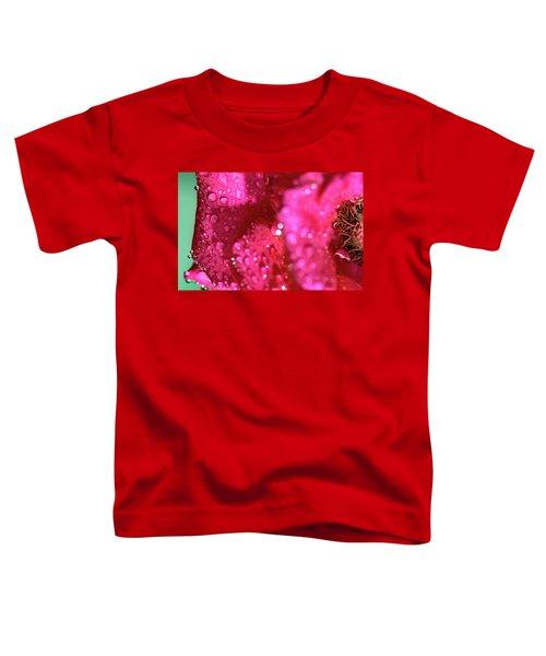 Sharp Wet Rose Toddler T-Shirt