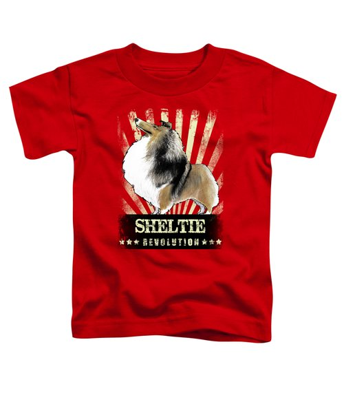 Sheltie Revolution Toddler T-Shirt