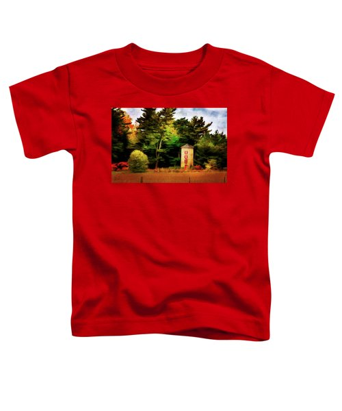 Small Autumn Silo Toddler T-Shirt