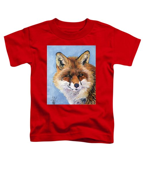 Smiling Fox Toddler T-Shirt