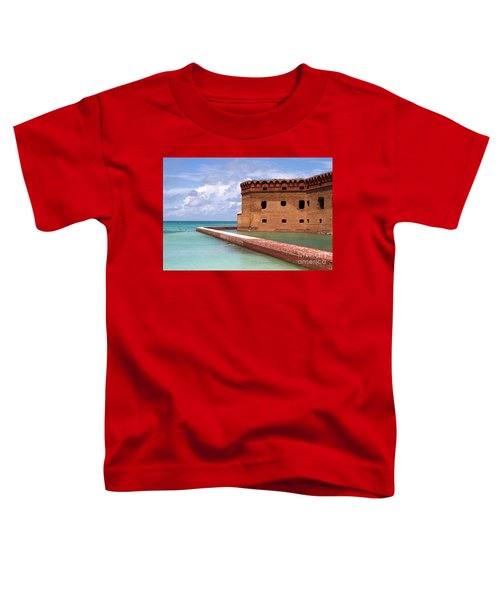 Snorkelers Fort Jefferson Toddler T-Shirt