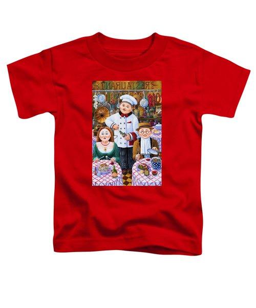 Something About Food 2 Toddler T-Shirt