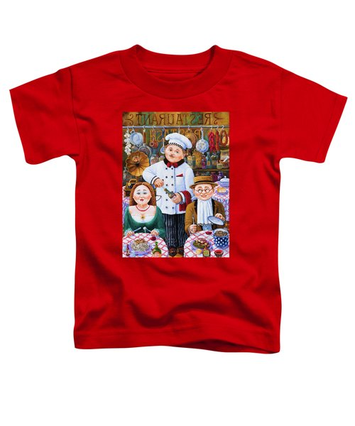 Something About Food 2 Toddler T-Shirt