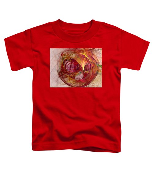 Space Demand Abstract Art Toddler T-Shirt