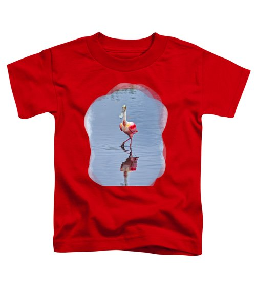 Spoonbill 2 Toddler T-Shirt