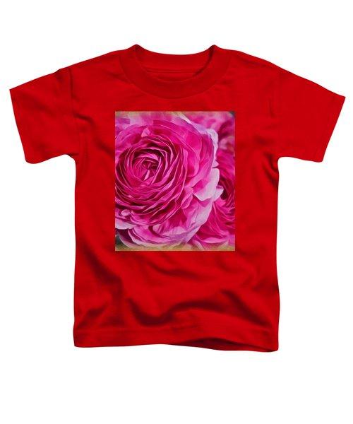 Spring Pink Roses Toddler T-Shirt