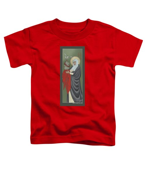 St Catherine Of Siena- Guardian Of The Papacy 288 Toddler T-Shirt