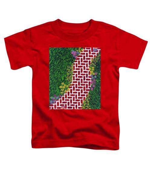 Step Into My Garden Toddler T-Shirt