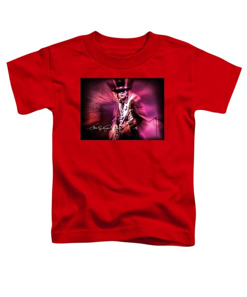 Stevie Ray Vaughan - Crossfire Toddler T-Shirt
