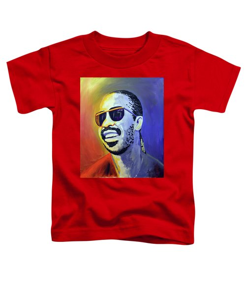 Stevie Wonder Toddler T-Shirt