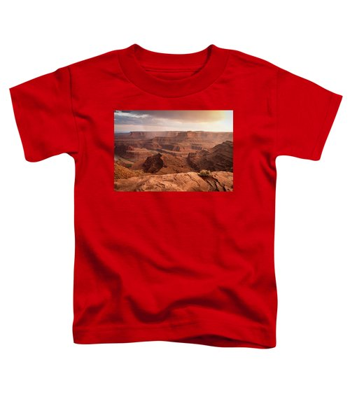 Storm Over Canyonlands Toddler T-Shirt