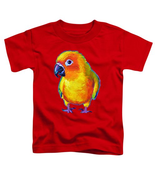 Sun Conure Parrot Toddler T-Shirt