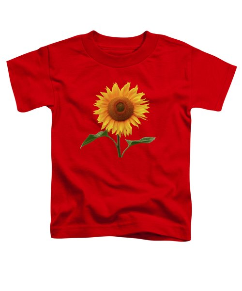Sunflower And Red Sunset Toddler T-Shirt