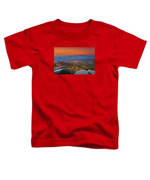 Sunrise On Rough Ridge  Toddler T-Shirt