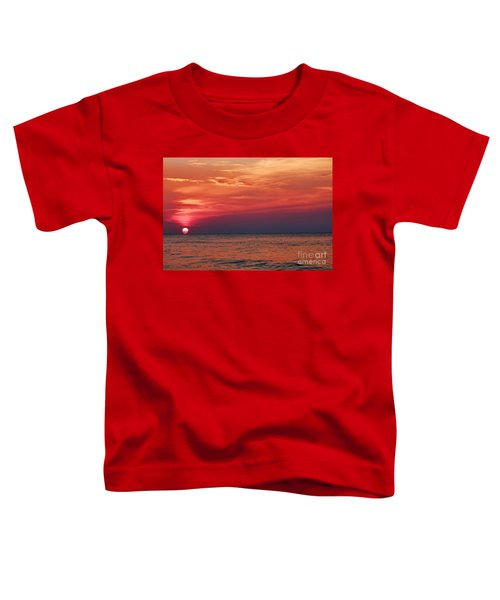 Sunrise Over The Horizon On Myrtle Beach Toddler T-Shirt