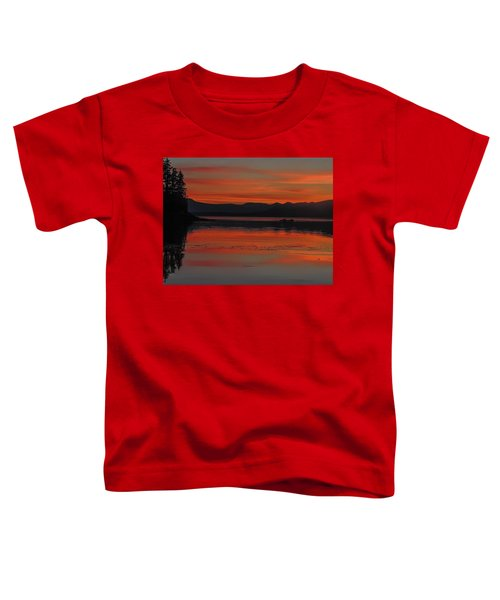 Sunset At Brothers Islands Toddler T-Shirt
