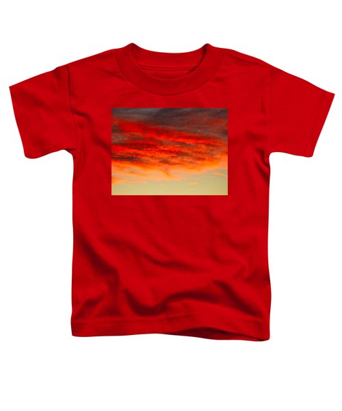 Sunset At Eaton Rapids 4826 Toddler T-Shirt