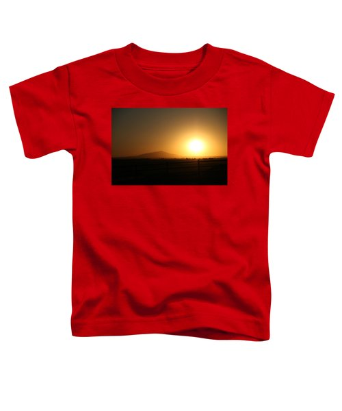 Sunset At Roswell New Mexico  Toddler T-Shirt
